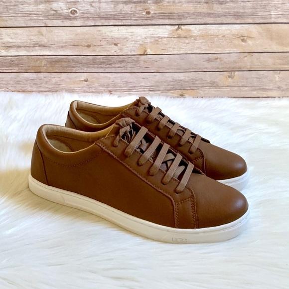 UGG Shoes | Ugg Karine Leather Sneakers